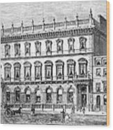 London: Carlton Club, 1868 Wood Print