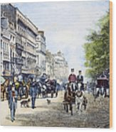 London: Piccadilly, 1895 Wood Print
