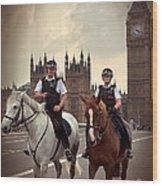 London Police Wood Print