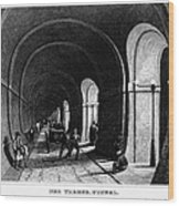 London: Thames Tunnel Wood Print