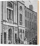 London: Watermans Hall Wood Print