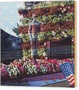 Lone Soldier Memorial Wood Print