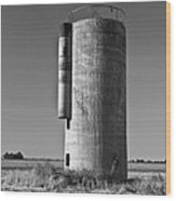 Lonely Silo 6 Wood Print
