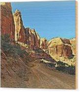Long Canyon 1 Wood Print