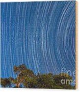 Long Trails Wood Print by Niko Monkkonen