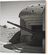 Longues-sur-mer German Battery Wood Print