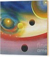 Look Into Deep Space 56 Wood Print