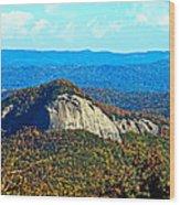 Looking Glass Mountain Blue Ridge Parkway Wood Print