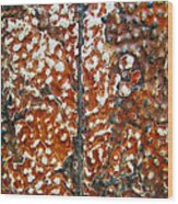 Looking Up Abstract Wood Print