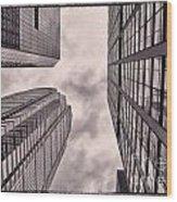 Looking Up In Philadelphia 3 Wood Print