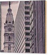 Looking Up In Philadelphia 7 Wood Print
