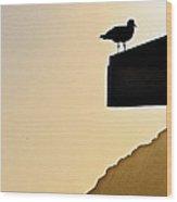 Lookout II Wood Print