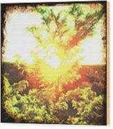 Los Alamos Sunset Wood Print