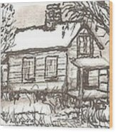 Lost Conversations Wood Print by Melonie King