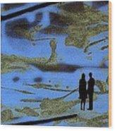 Lost In Translation - Serigrafia Arte Urbano Wood Print