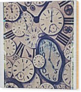 Lost Time Wood Print by Garry Gay