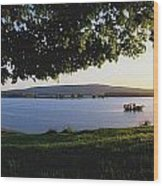 Lough Arrow, Co Sligo, Ireland Lake In Wood Print