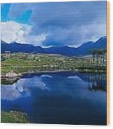 Lough Derryclare, Connemara, Co Galway Wood Print by The Irish Image Collection