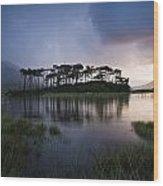 Lough Derryclare, Twelve Bens, Co Wood Print