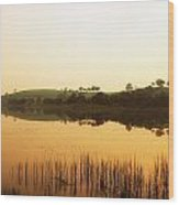 Lough Muck, County Tyrone, Ireland Wood Print