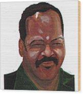 Louis Jackson Jesse Wood Print