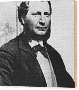 Louis Riel Wood Print by Granger