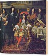 Louis Xiv (1638-1715) Wood Print