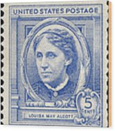 Louisa May Alcott (1832-1888) Wood Print