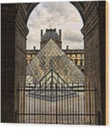 Louvre Museum Wood Print