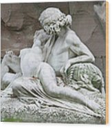 Love - Acis And Galatea Wood Print