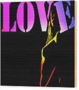 Love And Shadows Wood Print