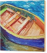 Love Boats Wood Print