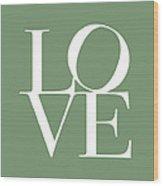 Love In Green Wood Print by Michael Tompsett