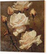 Love Letter II Wood Print by Jai Johnson
