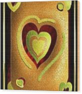 Love Of Fruit And Jello Wood Print