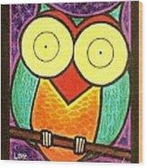 Love Owlways Too Wood Print