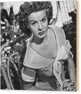 Love That Brute, Jean Peters, 1950 Wood Print