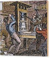 Lovejoys Printing Press Wood Print