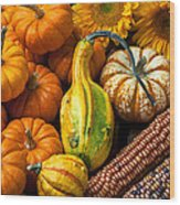 Lovely Autumn Wood Print