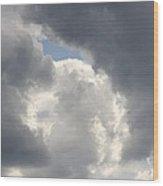 Lovely Cloud Wood Print