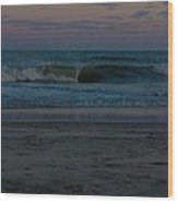 Lovely Waves Wood Print