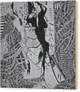 Loves Tryst Wood Print