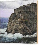 Lovrijenac Tower In Dubrovnik Wood Print