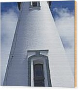 Low Angle View Of Lighthouse Wood Print