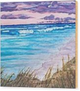 Low Tide Wood Print by Jeanette Stewart