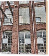 Lowe Mill Art Studios Huntsville Alabama Usa Wood Print