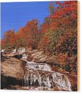 Lower Graveyard Falls Wood Print
