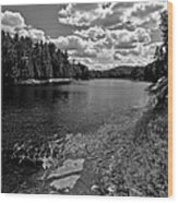Lower Madawaska River Wood Print