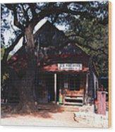 Luckenbach Texas - II Wood Print
