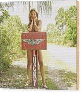 Mailbox 073 Wood Print